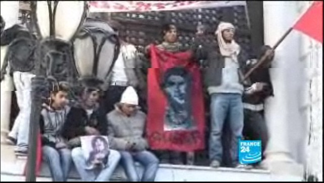 Che Guevara in Tunis  22/01/11