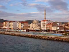 Eceabat harbour