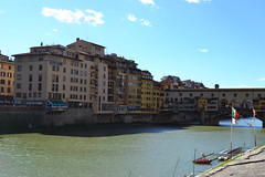 DSC_0430 (6) (pjpink) Tags: italy reflection water river florence spring tuscany firenze arno pontevecchio 2011 pjpink