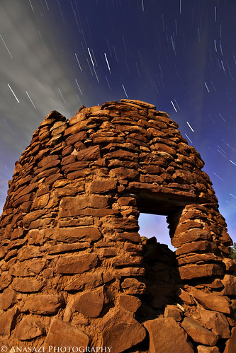 Mule Tower Star Trails