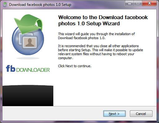 fbdownloader setup