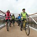 Minister Danny Kennedy leads the Sustrans Cycle