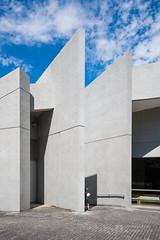 Detail of Osaka Pref. Chikatsu-Asuka Museum () (christinayan01) Tags: architecture building perspective tadao ando osaka japan museum concrete