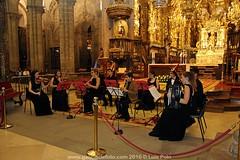 Peregrinos Musicales tocando en la Catedral