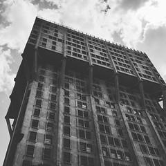 Torre velasca (tomascecco) Tags: italy lombardia milano blackwhite bianconero tower velasca building skycreep dalbasso lines city urban architecture nikon