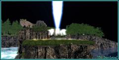 IMAGINE DAY (4) (Tim Deschanel) Tags: tim deschanel sl secondlife imagine day lighting peace tower remember john lennon jour paix lumire tour souvenir musique music