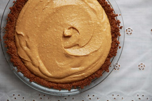 Almost No-Bake Pumpkin Cream Pie With Maple Whipped Cream ...