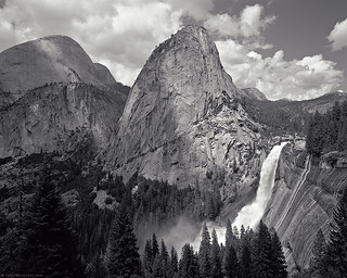 Nevada Fall, John Muir Trail, Yosemite National Park
