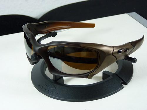 10c8cee768 Oakley PIT BOSS™ Matte Rootbeer Bronze w Tungsten Irid Polarized - a ...
