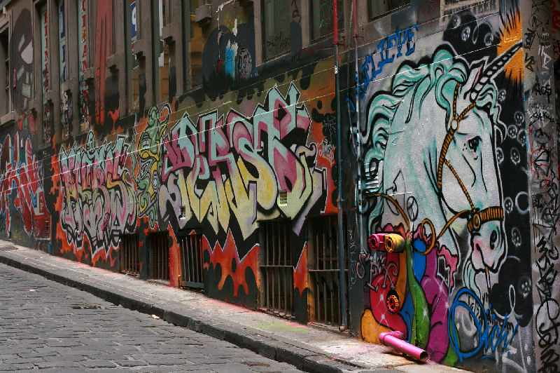 In Hosier Lane