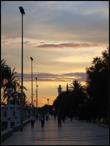 Anochece en Torre del Mar (2)