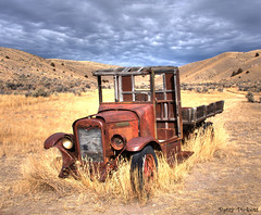 Bannack Montana ghost town (Pattys-photos) Tags: truck town montana ghost international hdr ihc bannack
