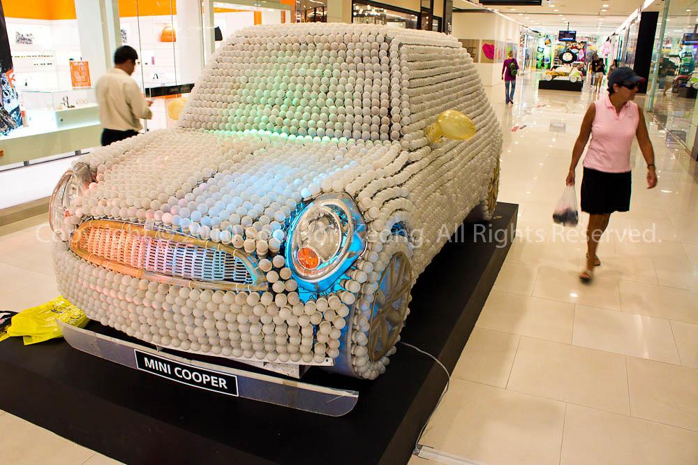 The Bulb Mini Cooper @ Central World, Bangkok, Thailand