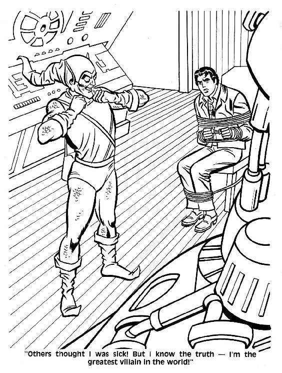 Spider-Man Unmasked! Coloring Book038