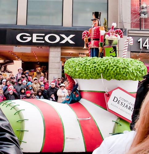 Milana's B-day - Santa Parade 304