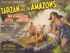 tarzan-amazons (gabrielrivages) Tags: johnny tarzan weissmuller weissmüller
