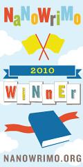 NaNoWriMo 2010 Winner Badge
