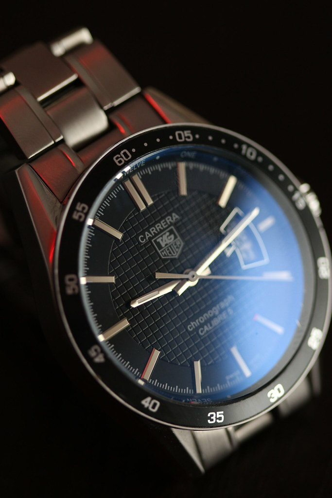 The New TAG Heuer Carrera Calibre 5 Watch