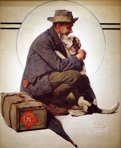 Homecoming--A return to simplicity. Norman Rockwell
