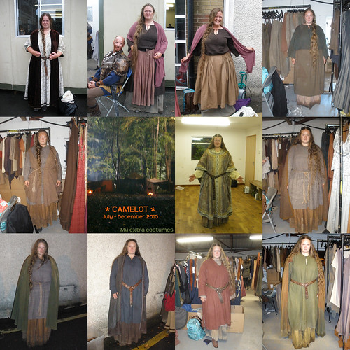 Fixed version - all my Camelot costumes (forgot one, from the first version)