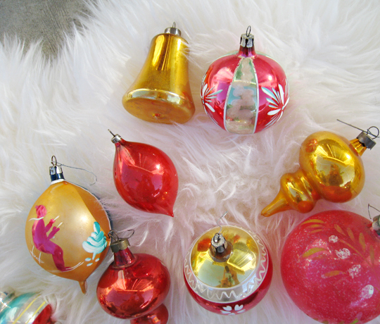 vintage christmas tree ornaments - 2