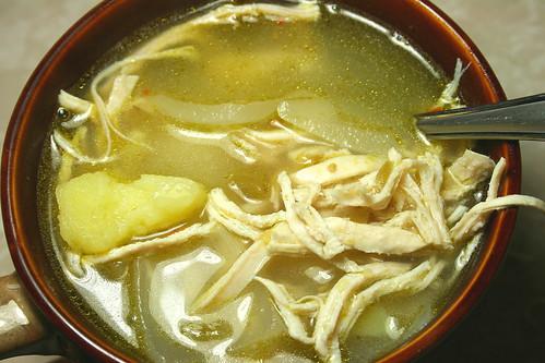 Jolts & Jollies: Green Chile Chicken Tortilla Soup