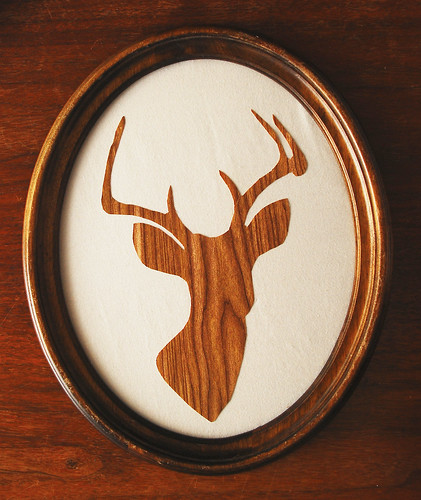 Oh deer_Faux wood grain version
