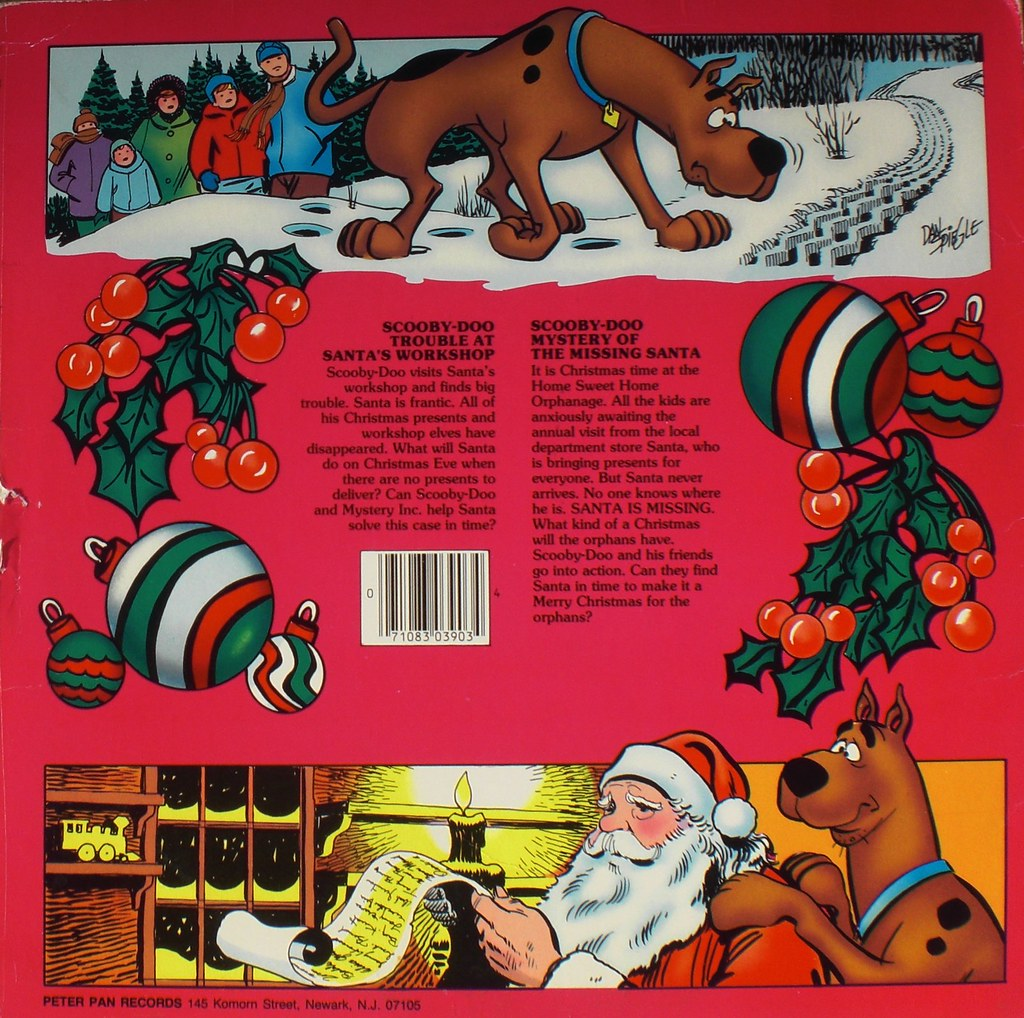SCOOBY DOO AND FRIENDS EXCITING CHRISTMAS STORIES back cover