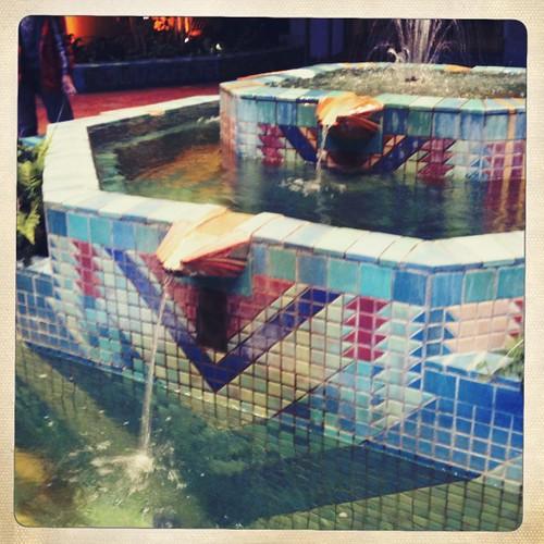 Joslyn Mosaic Fountain