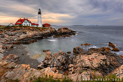 Portland Head (James Neeley) Tags: lighthouse landscape nikon maine newengland hdr portlandhead photomatix 2470mmf28 5xp mywinners jamesneeley exposurefusion