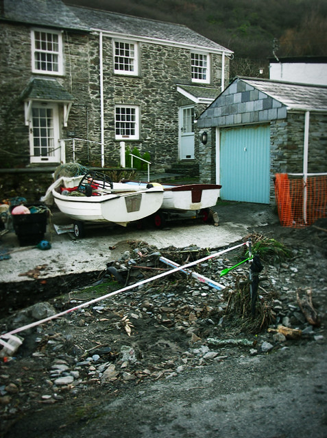 Day 182 - Flood Damage in Portloe