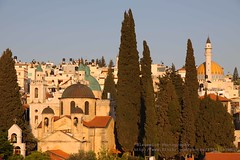 Cana, Wedding church in evening light (blauepics) Tags: city houses church architecture israel palestine religion kirche east stadt architektur historical middle orthodox osten palstina kana franciscan huser historisch franziskaner kanna hochzeitskirche mittlerer kafr