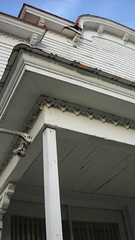 Poyner General Store, cornice detail (seedmoney1) Tags: curritucknc angelsinthearchitecture poynergeneralstore