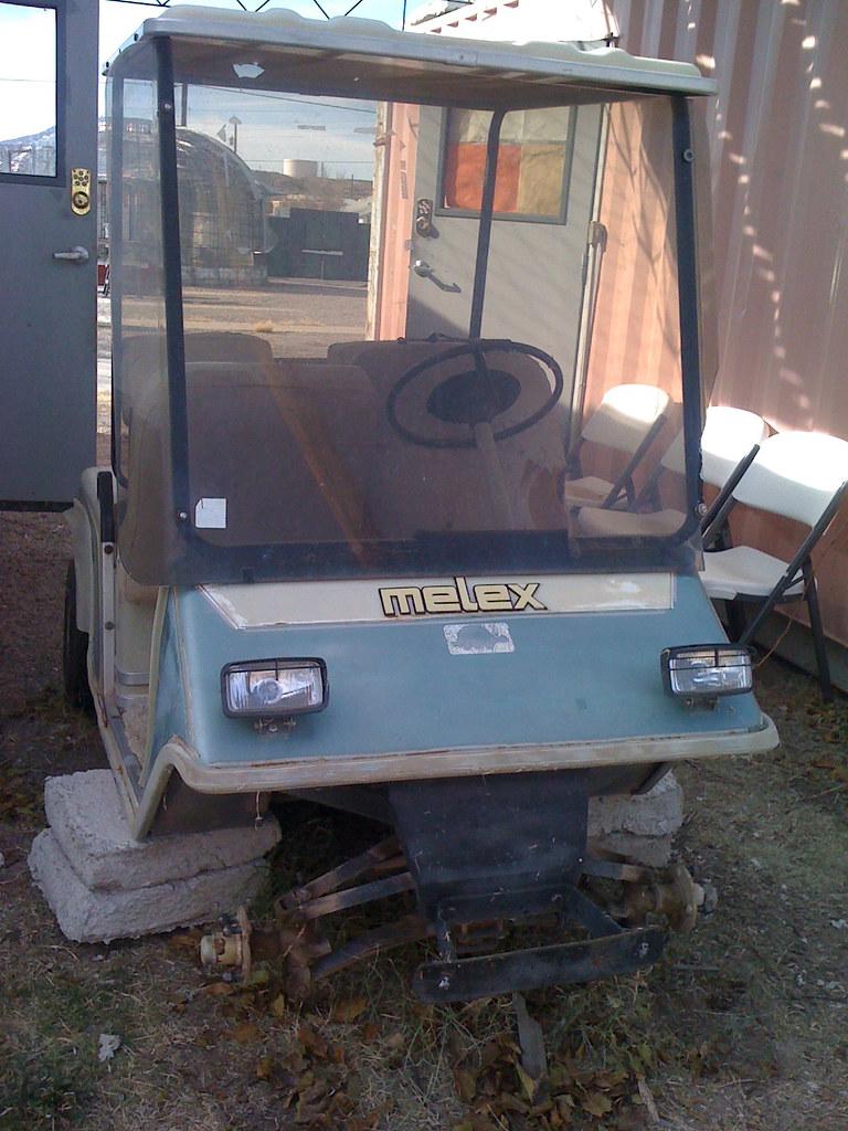 Golf Cart Tire Swap