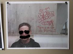courtesy of the Vernon, CA. police dept... (rattlesnake jones) Tags: streak boxcar hobo tramp freighttrain trainart markal moniker paintstick railgraffiti