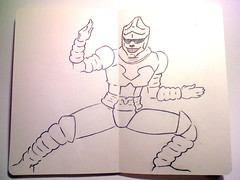 08 Jet Jaguar (MathewJPallett) Tags: sketch jetjaguar daikaiju
