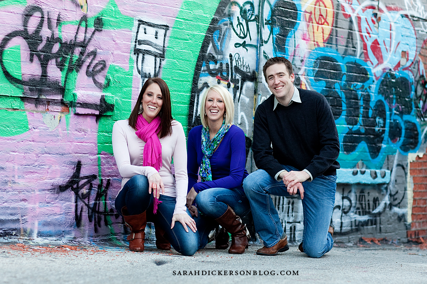 Crossroads Arts District Kansas City family portrait session