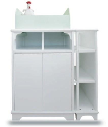 Juka 9 mueble cambiador para beb con bordes de seguridad for Mueble cambiador para bebe