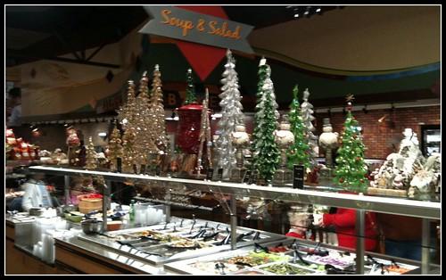 Salad Bar Christmas | I guess they are on the nice list!
