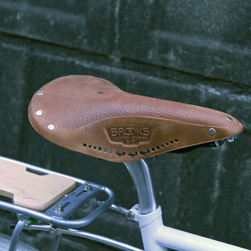 BROOKS / B17 AGED / TAN
