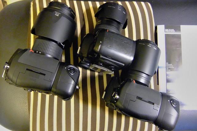 My Cameras (D700, D70, D300)