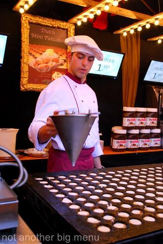Manchester Christmas mini pancakes