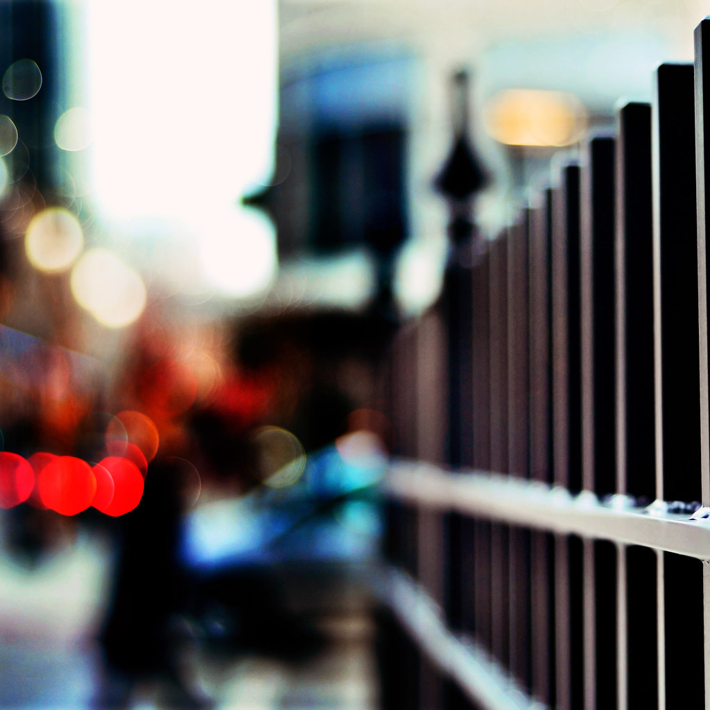 Big City Fence  {Explored - Front page}