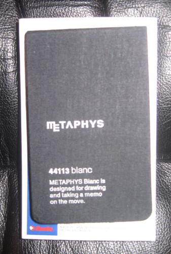 Metaphys Blanc 44113 memo pad
