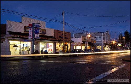Steveston At Night