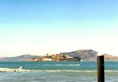 1999: Alcatraz Island, USA  #2 (dominotic) Tags: sanfrancisco california usa water america movement 1999 prison sanfranciscobay alcatrazisland