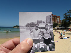 Manly now and then (LSydney) Tags: beach manly nat historic manlybeach nat1 thendate1940