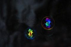 bubble mirage (Rosanna Leung) Tags: reflection water ball pond ripple bubble 水 倒影 水池 泡 氣泡 漣漪 吹氣泡