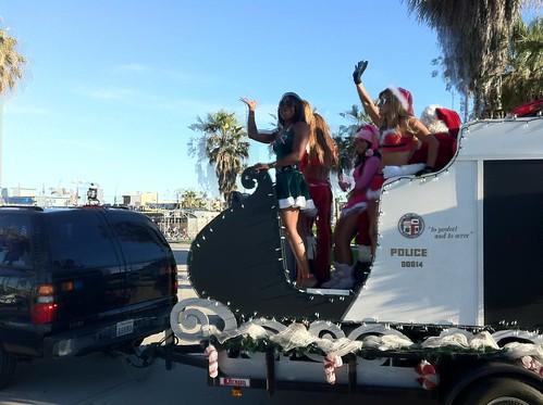 LAPD Christmas Sleigh