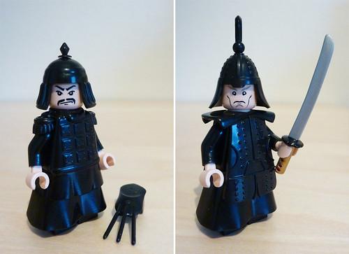 chinese knight custom minifigs
